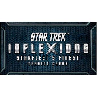 Star Trek Inflexions Starfleet's Finest Trading Cards 20-Box Case (Rittenhouse 2019)