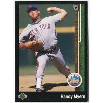 1989 Upper Deck Randy Myers New York Mets #634 Black Border Proof