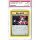 Pokemon Team Rocket Trainer Rocket's Sneak Attack 16/82 PSA 10 GEM MINT