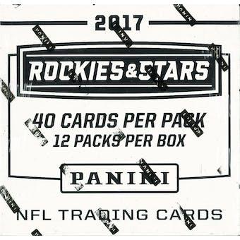 2017 Panini Rookies & Stars Football Jumbo Box