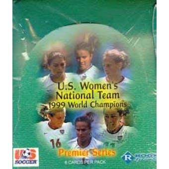 1999 Roox U.S. Womans Soccer Hobby Box