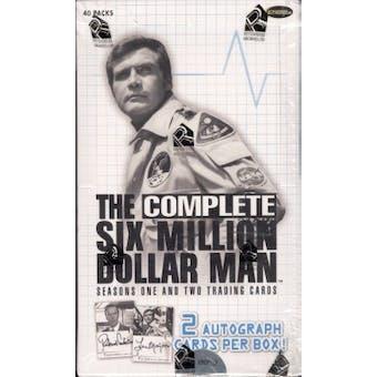 The Complete Six Million Dollar Man Seasons 1 & 2 Box (Rittenhouse 2004)