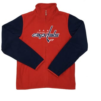 Washington Capitals Reebok Red Full Zip Microfleece Jacket (Womens M)