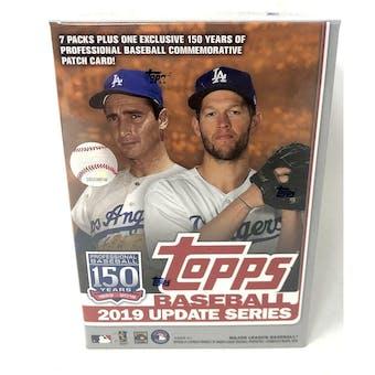 2019 Topps Update Baseball Blaster 7-Pack Box
