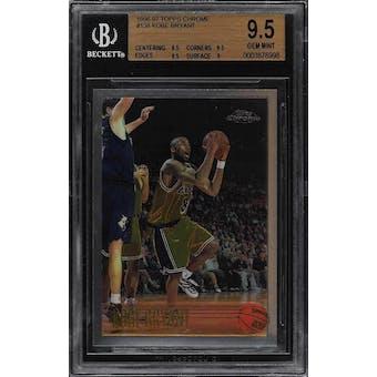1996/97 Topps Chrome Kobe Bryant BGS 9.5 card #138