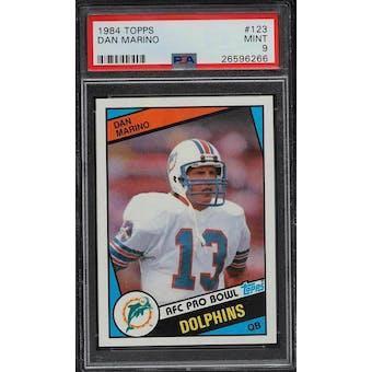 1984 Topps Dan Marino PSA 9 card #123