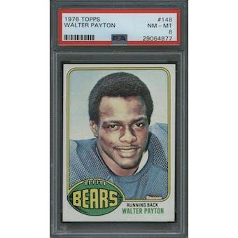 1976 Topps Walter Payton PSA 8 card #148
