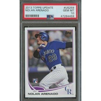 2013 Topps Update Nolan Arenado PSA 10 card #US259