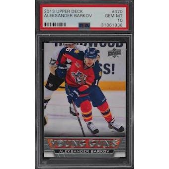2013-14 Upper Deck Young Gun Aleksander Barkov PSA 10 card #470