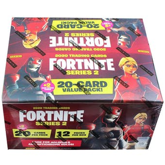 Fortnite Series 2 Trading Cards Value Pack Box (2020 Panini)
