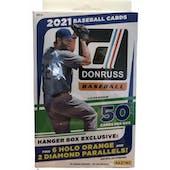2021 Panini Donruss Baseball Hanger Box