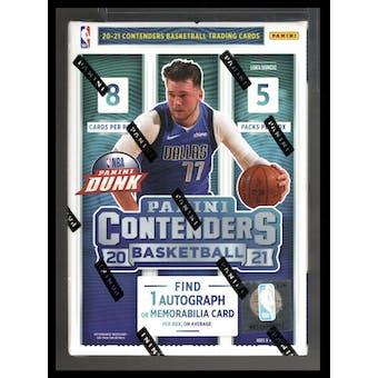 2020/21 Panini Contenders Basketball 5-Pack Blaster Box