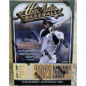2021 Panini Absolute Baseball Blaster 5-Pack Box