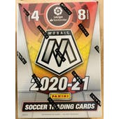 2020/21 Panini Mosaic La Liga Soccer 8-Pack Blaster Box