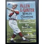2021 Topps Allen & Ginter Baseball 8-Pack Blaster Box (Lot of 6)