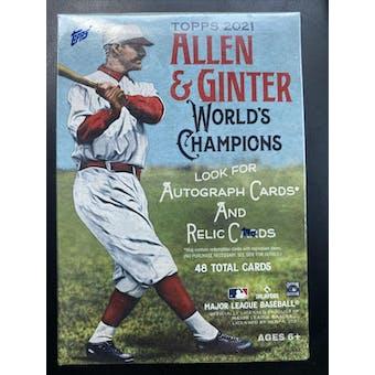 2021 Topps Allen & Ginter Baseball 8-Pack Blaster Box