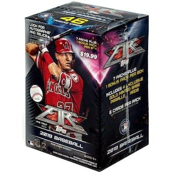 2019 Topps Fire Baseball 7-Pack Blaster Box