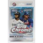 2021 Topps Chrome Baseball Hanger Box