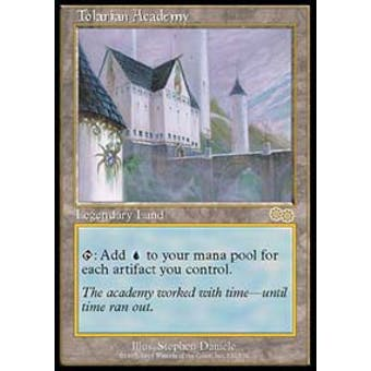 Magic the Gathering Urza's Saga Single Tolarian Academy - NEAR MINT (NM)