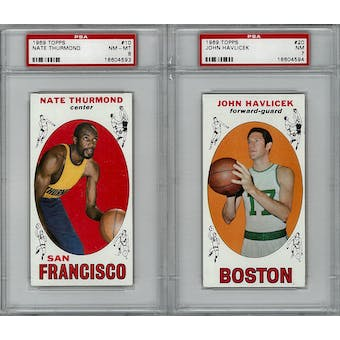 1969/70 Topps Basketball Complete Set (NM-MT)