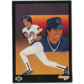 1989 Upper Deck Ryne Sandberg Chicago Cubs #675 Black Border Proof