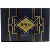 2021/22 Hit Parade Basketball Sapphire Edition Series 1 Hobby 6-Box Case /50 Tatum-Durant-Zion