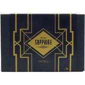 2021 Hit Parade Football Sapphire Edition Series 2 Hobby 6-Box Case /50 Herbert-Brady-Burrow