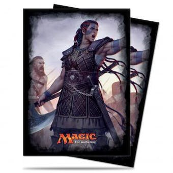CLOSEOUT - ULTRA PRO SASKIA THE UNYIELDING 120 COUNT STANDARD DECK PROTECTORS