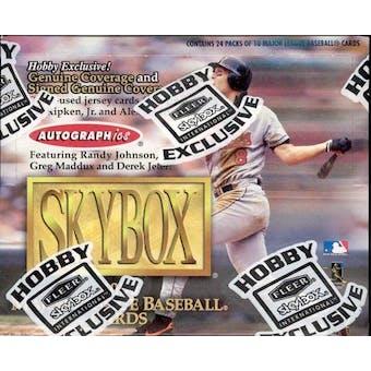 2000 Skybox Baseball Hobby Box