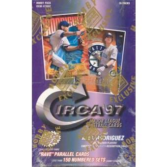 1997 Fleer Circa Baseball Hobby Box