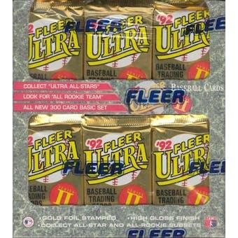 1992 Fleer Ultra Series 2 Baseball Jumbo Box (Reed Buy)