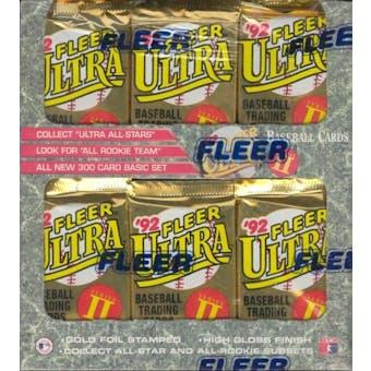 1992 Fleer Ultra Series 2 Baseball Jumbo Box