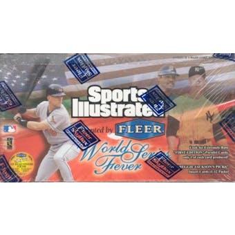 1998 Fleer Sports Illustrated World Series Fever Baseball Hobby Box