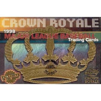 1998 Pacific Crown Royale Baseball Hobby Box