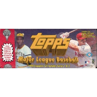 1998 Topps Factory Set Baseball (Box) (Arizona Diamondbacks Inaugural)