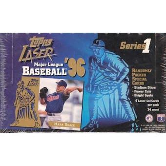 1996 Topps Laser Series 1 Baseball Hobby Box