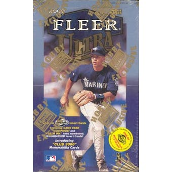 2000 Fleer Ultra Baseball Hobby Box