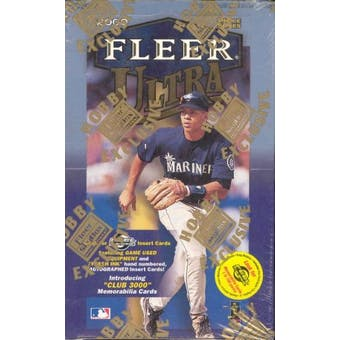 2000 Fleer Ultra Baseball Hobby Box