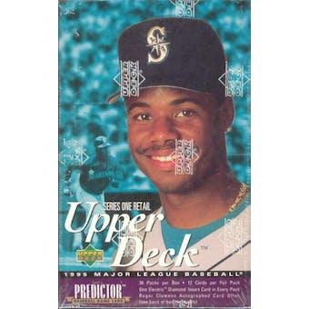 1995 Upper Deck Series 1 Baseball Retail Box