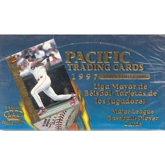 1997 Pacific Baseball Spanish Hobby Box