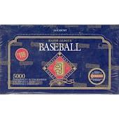 1992 Donruss Series 1 Baseball Jumbo Box (Reed Buy)