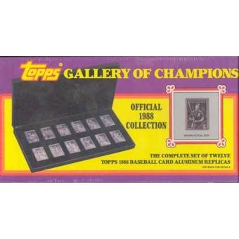1988 Topps Gallery of Champions Baseball Set