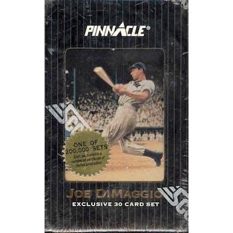 1993 Pinnacle Joe DiMaggio Exclusive 30 Card Baseball Factory Set (Box)