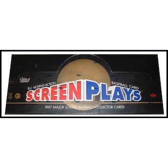 1997 Topps Screen Plays Baseball Hobby Box