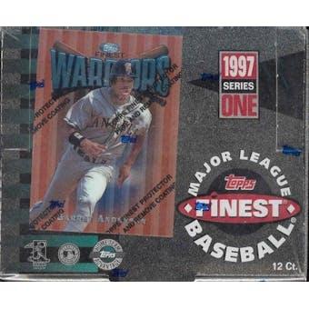 1997 Topps Finest Series 1 Baseball Jumbo Box