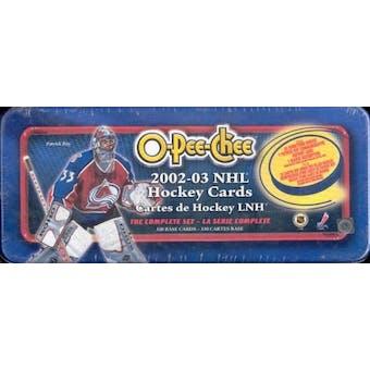 2002/03 O-Pee-Chee Hockey Factory Set (Box)