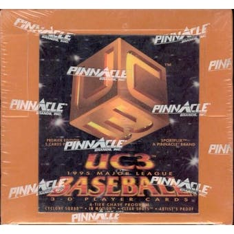 1995 Pinnacle UC3 Baseball Hobby Box