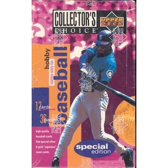1995 Upper Deck Collector's Choice Special Edition Baseball Hobby Box