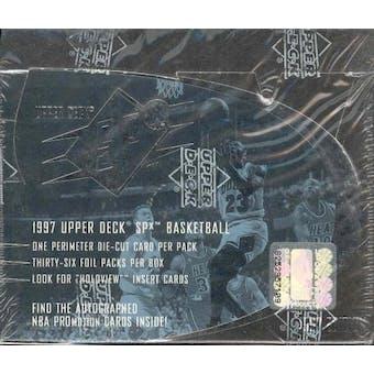 1997 Upper Deck SPx Basketball Hobby Box