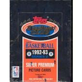 1992/93 Topps Stadium Club Series 2 Basketball Hobby Box (Reed Buy)